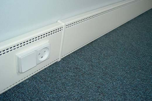 Skirting Board Heater Facias
