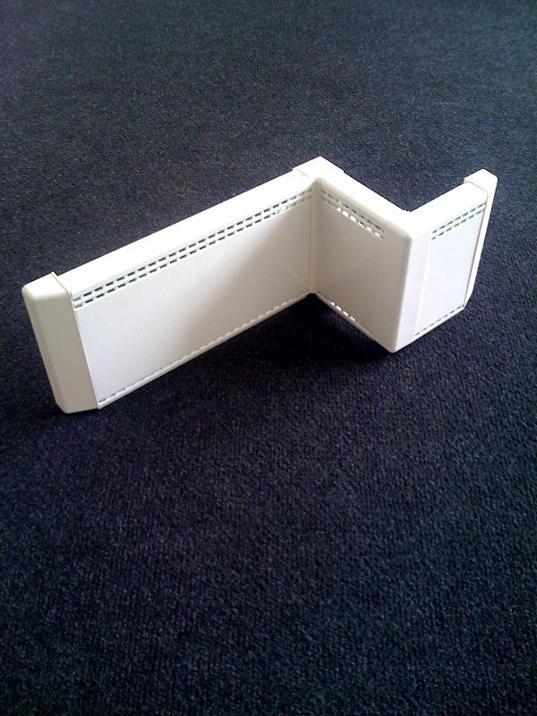 Design Details and Ending Parts of Elpan/Wanpan Skirting Board ...